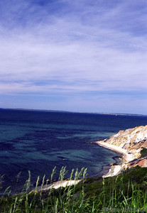 A view of Gay Head in Martha's Vineyard
