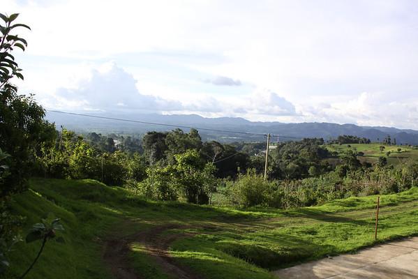 the valley below Casa Angelina