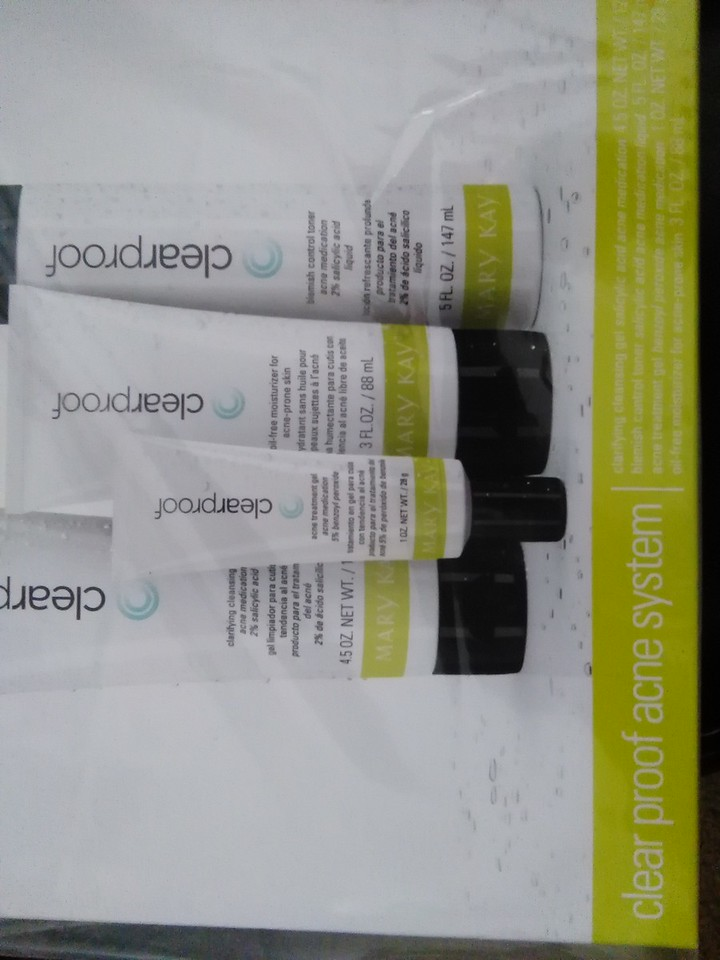 Clear Proof:<br /> Acne System Set   $45