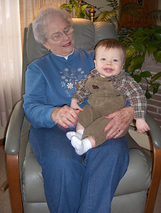 Owen and Grandma Beals