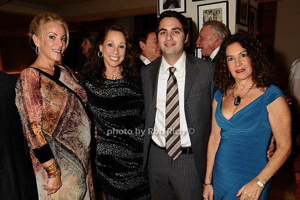 Barbara Herzberg, Mary Ann Portell, Jonathan Zarin, Lenore Zarin<br /> photo by Rob Rich © 2009 robwayne1@aol.com 516-676-3939