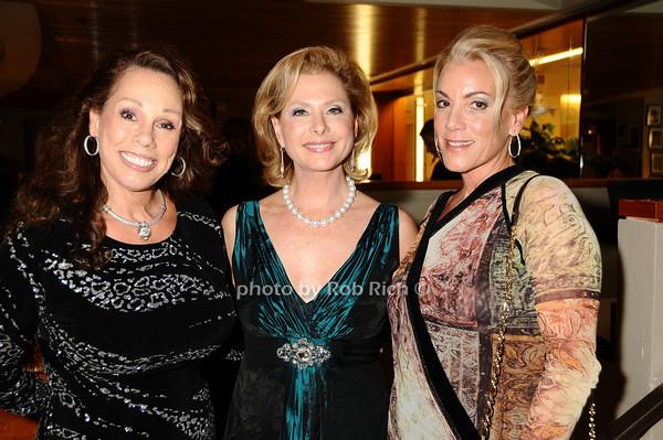 Mary Ann Portell,  Pamela Morgan, Barbara Herzberg<br /> photo by Rob Rich © 2009 robwayne1@aol.com 516-676-3939
