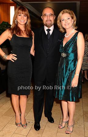 Jill Zarin, Bobby Zarin, Pamela Morgan<br /> photo by Rob Rich © 2009 robwayne1@aol.com 516-676-3939