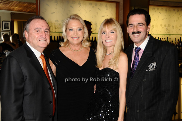 Jerry Kremer, Suzan Kremer, Colleen Rein, Gary Rein<br /> photo by Rob Rich © 2009 robwayne1@aol.com 516-676-3939