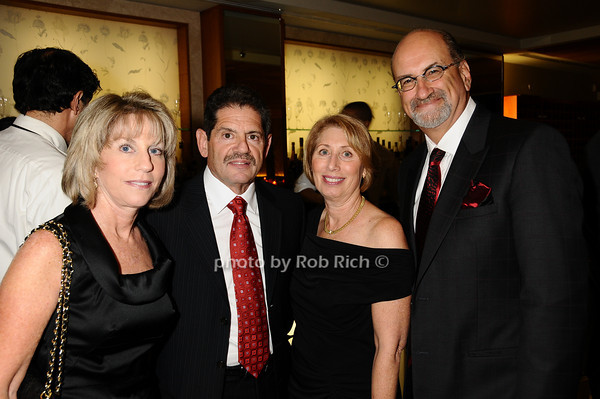 Risa Grossman, Lewis  Grossman, Eileen Feldman, Warren Feldman<br /> photo by Rob Rich © 2009 robwayne1@aol.com 516-676-3939