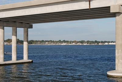 Choptank River and Bridge, Cambridge MD