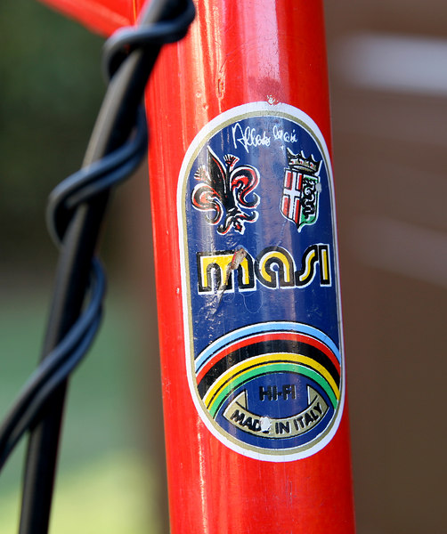 Head tube decal