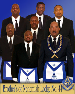 Brothers of Nehemiah Lodge No. 44  2011 Group Picture