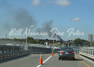 Just after the 2nd coming over the Fore River Bridge....