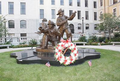 Mass Fallen Firefighters Memorial Ceremonies Sept. 11, 2011