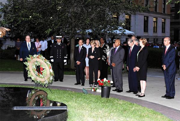 Mass Fallen Firefighters Memorial - Sept 11, 2014