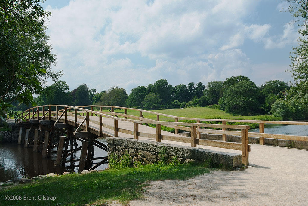 North Bridge<br /> Concord, MA<br /> <br /> Site of one of the first battles of the American Revolutionary War.