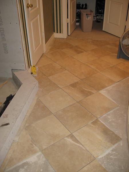 The floor tile is nice