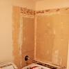 Starting the work - Ceramic tile gone