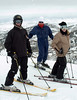 The Mates family from Indianapolis enjoys a ski outing at Deer Valley Resort in Park City, Utah.