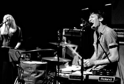 Kori Gardner and Jason Hammel of Mates of State perform at the Bluebird Theater, Saturday, June 26, 2010. (Anya Semenoff, The Denver Post)