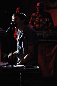 Jason Hammel of Mates of State performs at the Bluebird Theater, Saturday, June 26, 2010. (Anya Semenoff, The Denver Post)
