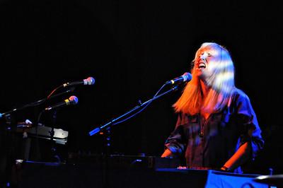 Kori Gardner of Mates of State performs at the Bluebird Theater, Saturday, June 26, 2010. (Anya Semenoff, The Denver Post)