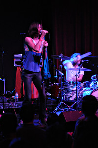 Free Energy opens for Mates of State at the Bluebird Theater, Saturday, June 26, 2010. (Anya Semenoff, The Denver Post)