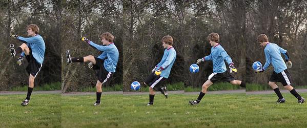 kick progression