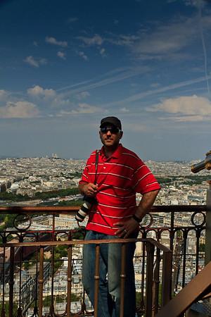 Matthew in the Eiffel Tower