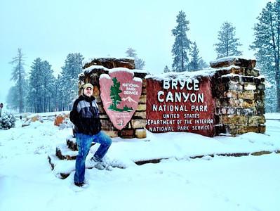 Matthew at Bryce Canyon National Park