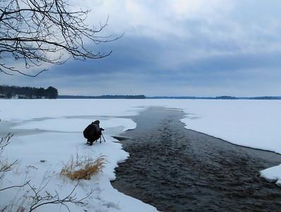 Matthew on Trout Lake
