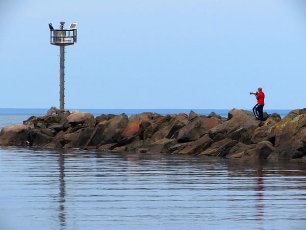 Matthew at Black River Harbor