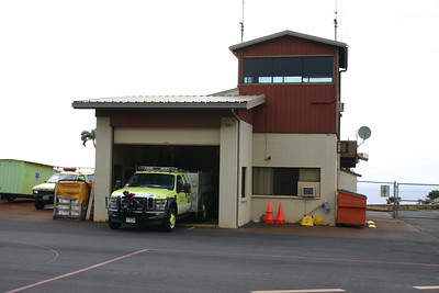 Kapalua Airport in Maui protected by Rescue 1.  Daytime flights only at this very small airport.