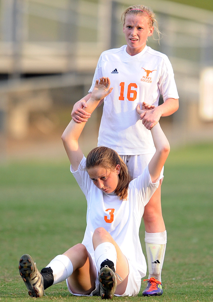 The Mauldin Mavericks played host to the Woodmont Wildcats in the first round of the state soccer playoffs.<br /> GWINN DAVIS PHOTOS<br /> gwinndavis@gmail.com  <br /> (864) 915-0411