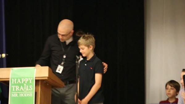 Max's 5th Grade Graduation