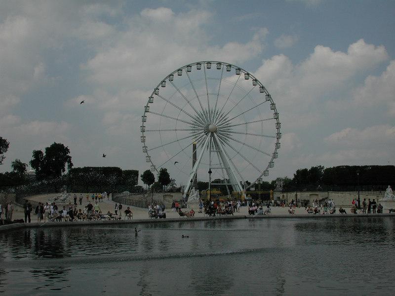 La Grande Ruota di Place de la Concorde