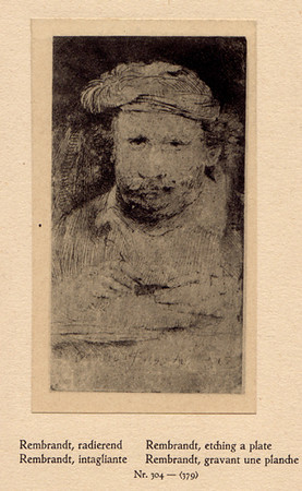 304.rembrandt,self etching