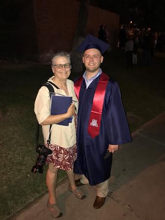 May 12, 2017 - Tony's University of Arizona Graduation