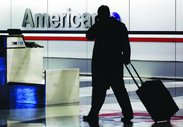 American Airlines Boarding