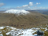 Beinn Heasgarnich with Lawers group beyond from summit of Creag Mhor - 12th May 2012
