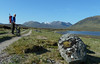 Loch Pattack on the cycle in to Ben Alder and Beinn Bheoil on 26th May 2012
