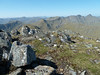 View round to Sgurr na Ciche from Sgurr Mor in 31 degrees C on 27th May 2012