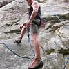 Kevin Plaxco making a fashion statement at San Ysidro Canyon