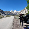 Teri at Pine Creek, near Bishop