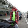 Ian on arrival in California