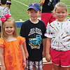 Madeline, Jax and Camden at Field Day