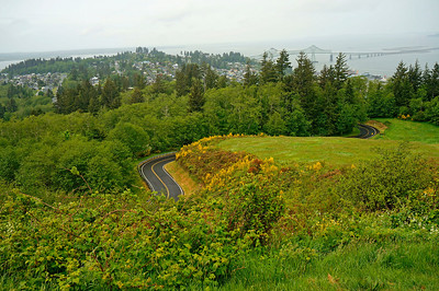 Viewpoint above Astoria, Oregon
