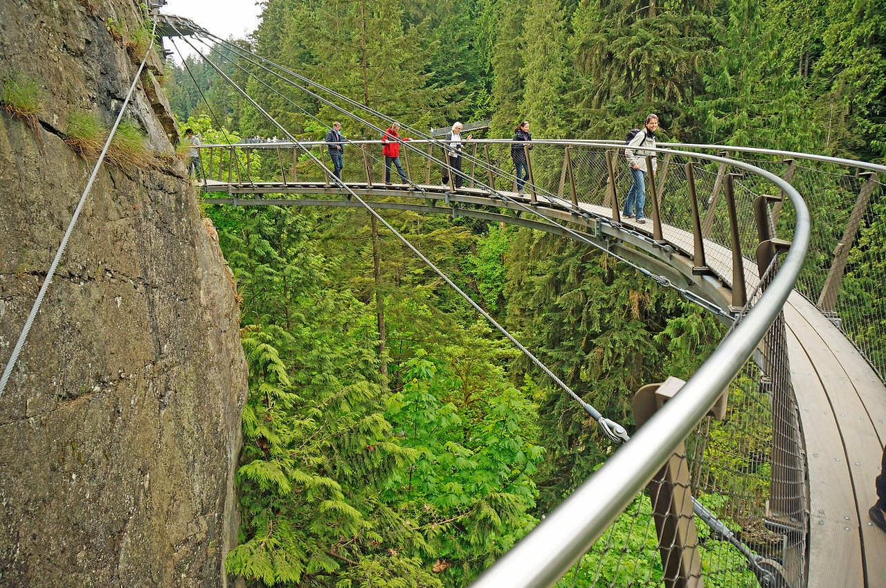 Cliff Walk at Capilano.