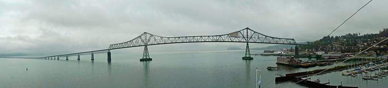 Bridge at Astoria, Oregon.
