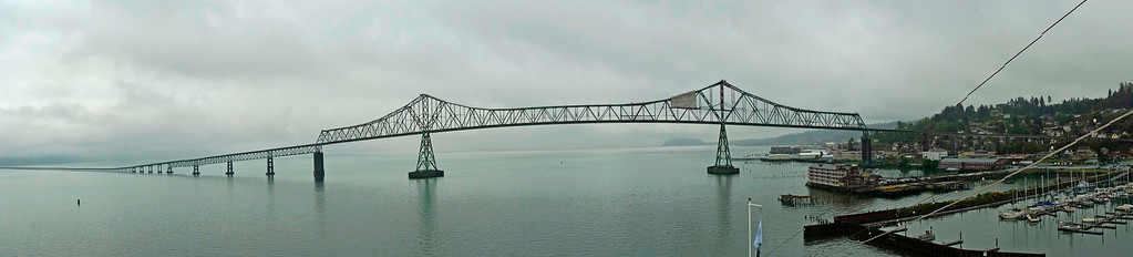 Bridge at Astoria, Oregon.