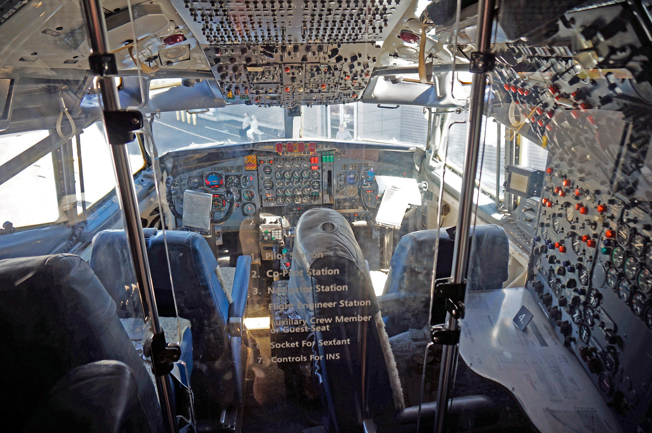 Cockpit of Air Force 1
