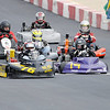 Drivers jockey for position headed into turn one at the start of the Flathead feature race during the 19th Annual Sertoma Club Mayor's Cup Grand Prix Go Kart Race on Saturday.