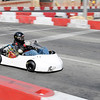 Brandon Meyers leads a feature race during the 19th Annual Sertoma Club Mayor's Cup Grand Prix Go Kart Race on Saturday.