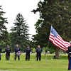 Anderson Memorial Park Cemetery Memorial Day service.<br /> <br /> Photographer's Name: Colleen Sanders Brown<br /> Photographer's City and State: Anderson, Ind.